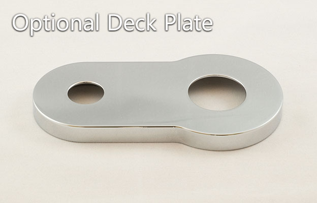 Faucet with Deck Plate
